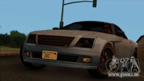 Schyster Fusilade Sport 1.0 (IVF) pour GTA San Andreas