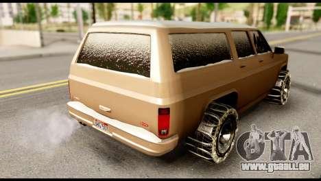GTA 5 RancherXL für GTA San Andreas linke Ansicht
