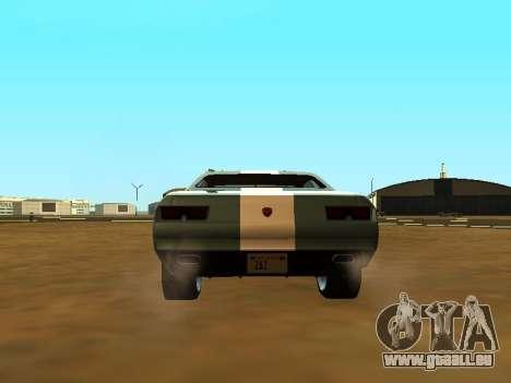 GTA 5 Bravado Gauntlet pour GTA San Andreas vue de dessus