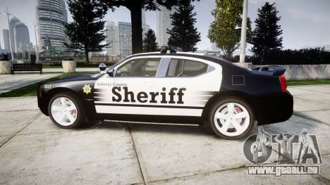 Dodge Charger SRT8 2010 Sheriff [ELS] rambar pour GTA 4