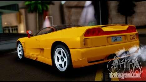 BMW Italdesign Nazca C2 1991 pour GTA San Andreas laissé vue