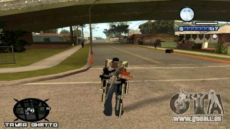 HUD Ghetto Tawer pour GTA San Andreas