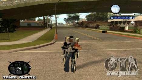 HUD Ghetto Tawer für GTA San Andreas