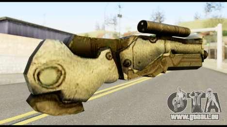 Plasmagun from Metal Gear Solid pour GTA San Andreas deuxième écran