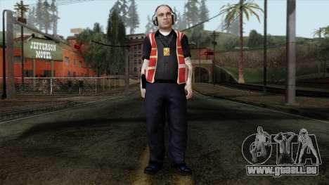 GTA 4 Skin 17 für GTA San Andreas