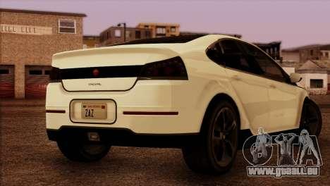 Cheval Surge 1.1 (HQLM) pour GTA San Andreas laissé vue