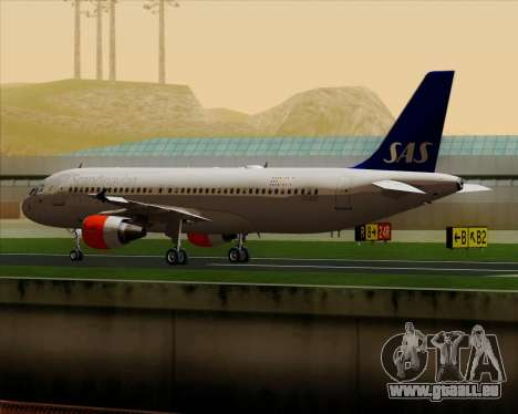 Airbus A320-200 Scandinavian Airlines - SAS für GTA San Andreas