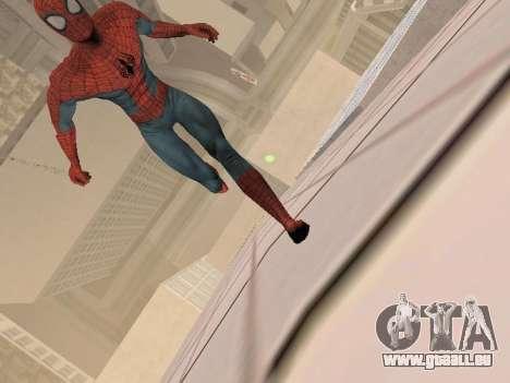 Spiderman 3 Crawling für GTA San Andreas her Screenshot