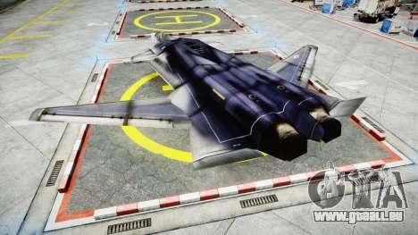 Lockheed F-121 Switchblade pour GTA 4 est une gauche