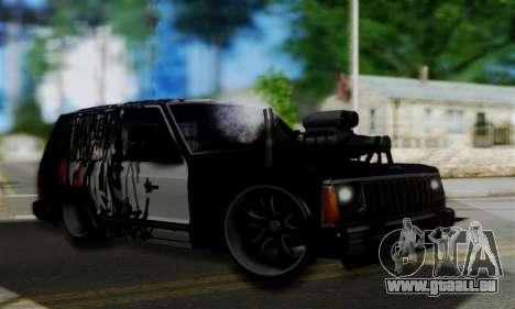 Jeep Mini-Truck für GTA San Andreas