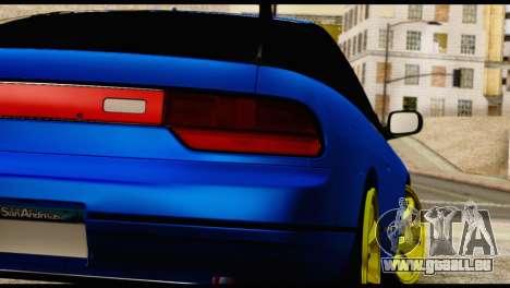 Nissan Silvia S13 Sileighty Drift Moster für GTA San Andreas Innenansicht