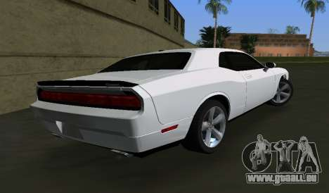 Dodge Challenger SRT für GTA Vice City