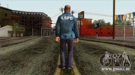 Police Skin 13 für GTA San Andreas zweiten Screenshot