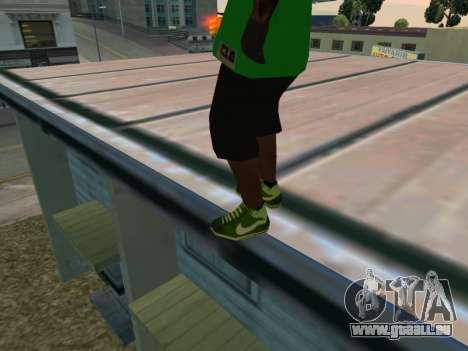 Fam3 Skin pour GTA San Andreas troisième écran
