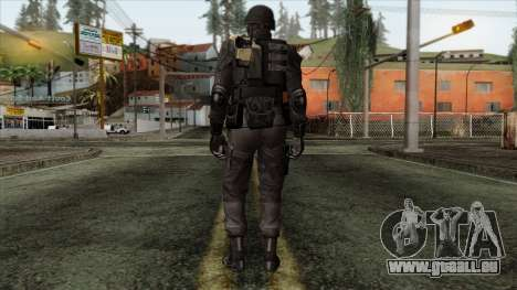 Resident Evil Skin 3 pour GTA San Andreas deuxième écran