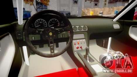 Nissan 240SX Missile für GTA 4 Innenansicht