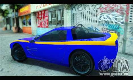 Coquette (GTA IV) pour GTA San Andreas laissé vue