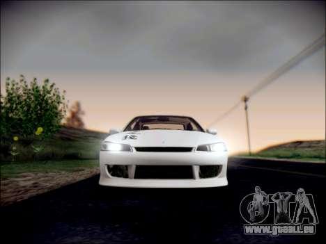 Nissan Silvia S15 Roux pour GTA San Andreas vue de côté