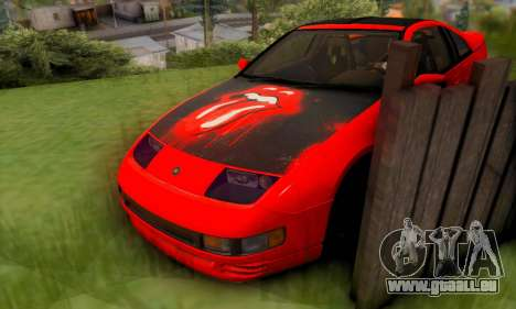 Nissan 300XZ The Rolling für GTA San Andreas obere Ansicht