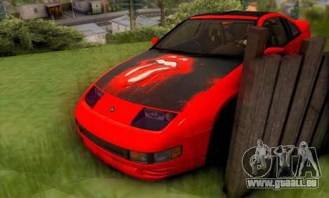 Nissan 300XZ The Rolling pour GTA San Andreas vue de dessus