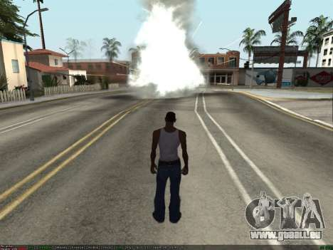 New Effects Pack White Version für GTA San Andreas dritten Screenshot