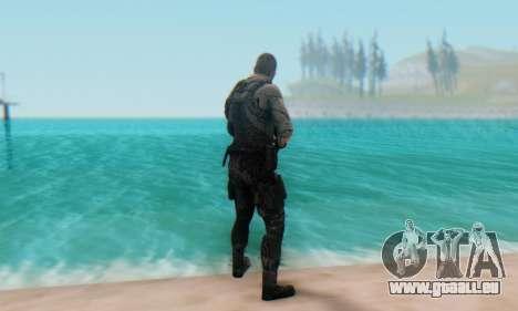 Sam Fisher - Paladin Outfit (Splinter Cell Black pour GTA San Andreas troisième écran