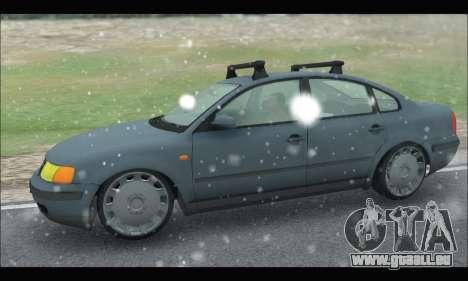 VW Passat pour GTA San Andreas laissé vue