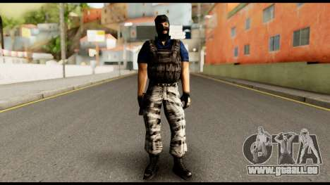 Counter Strike Skin 2 für GTA San Andreas