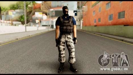 Counter Strike Skin 2 für GTA San Andreas