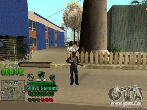 C-HUD Grove Street pour GTA San Andreas