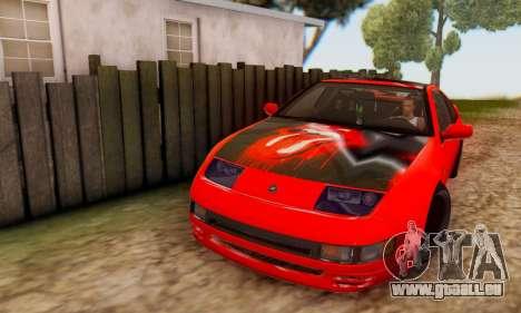 Nissan 300XZ The Rolling pour GTA San Andreas vue intérieure
