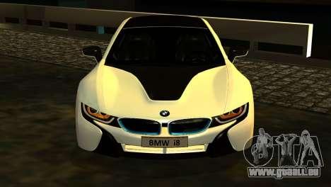 BMW I8 2013 pour GTA San Andreas vue de droite