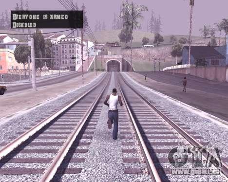 Colormod by Shane pour GTA San Andreas troisième écran