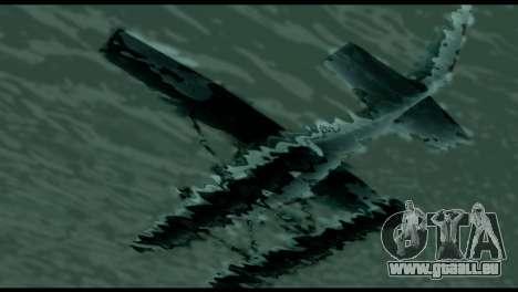 Beta Skimmer für GTA San Andreas Rückansicht