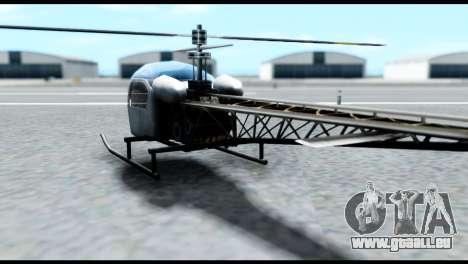 Beta Sparrow pour GTA San Andreas laissé vue