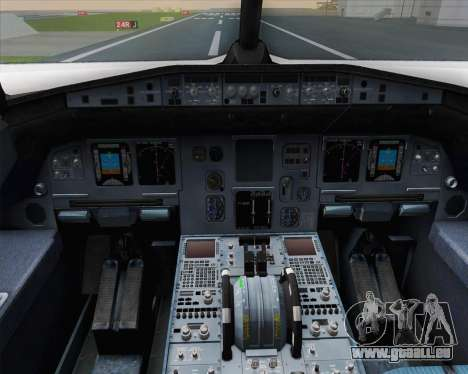 Airbus A320-200 Air France Skyteam Livery pour GTA San Andreas salon