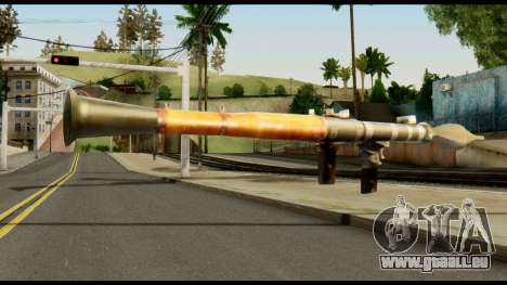 RPG7 from Metal Gear Solid für GTA San Andreas zweiten Screenshot