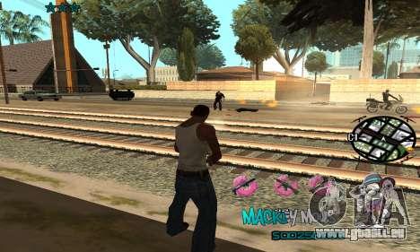 C-HUD Mickey Mouse für GTA San Andreas her Screenshot