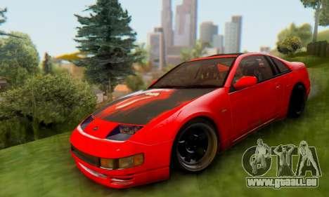 Nissan 300XZ The Rolling pour GTA San Andreas sur la vue arrière gauche