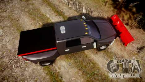 Dodge Ram 3500 Plow Truck [ELS] für GTA 4 rechte Ansicht