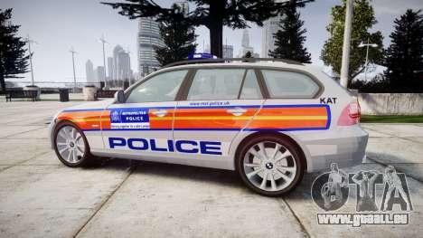 BMW 325d E91 2010 Metropolitan Police [ELS] für GTA 4 linke Ansicht