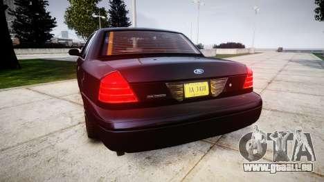 Ford Crown Victoria Police Interceptor [Retired] für GTA 4 hinten links Ansicht