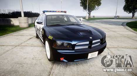 Dodge Charger SRT8 2010 Sheriff [ELS] für GTA 4