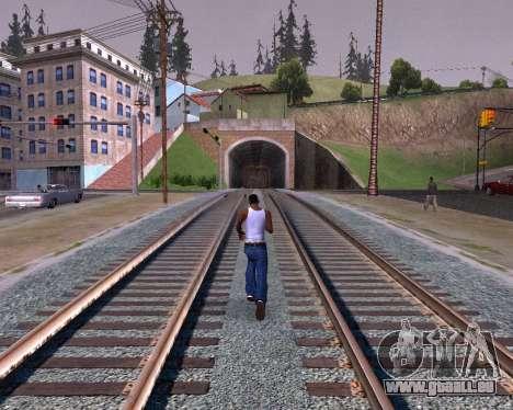 Colormod Dark Low pour GTA San Andreas cinquième écran