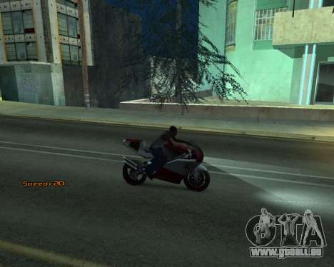Car Speed für GTA San Andreas fünften Screenshot
