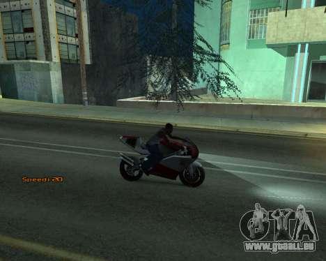 Car Speed pour GTA San Andreas cinquième écran