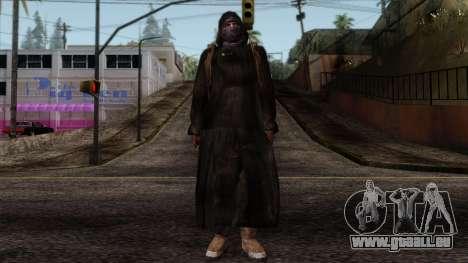 Resident Evil Skin 8 für GTA San Andreas