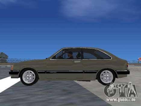 Chevrolet Chevette Hatch pour GTA San Andreas vue de droite