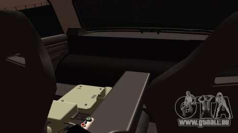 VAZ 2105 cookie monster für GTA San Andreas Rückansicht