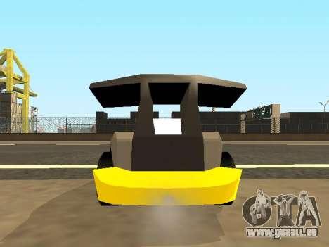 RC Bandit (Automotive) pour GTA San Andreas vue intérieure